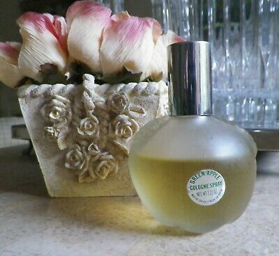 Vintage Green Apple Cologne Spray Perfume Max Factor 2.25 oz Green Apple Perfume