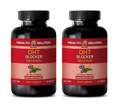 antioxidant formula capsules - DHT BLOCKER HAIR COMPLEX he shou wu herb 2BOTTLE