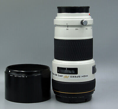 MINOLTA High Speed AF APO TELE ZOOM 80-200mm F/2.8 Lens ((Good Condition++))