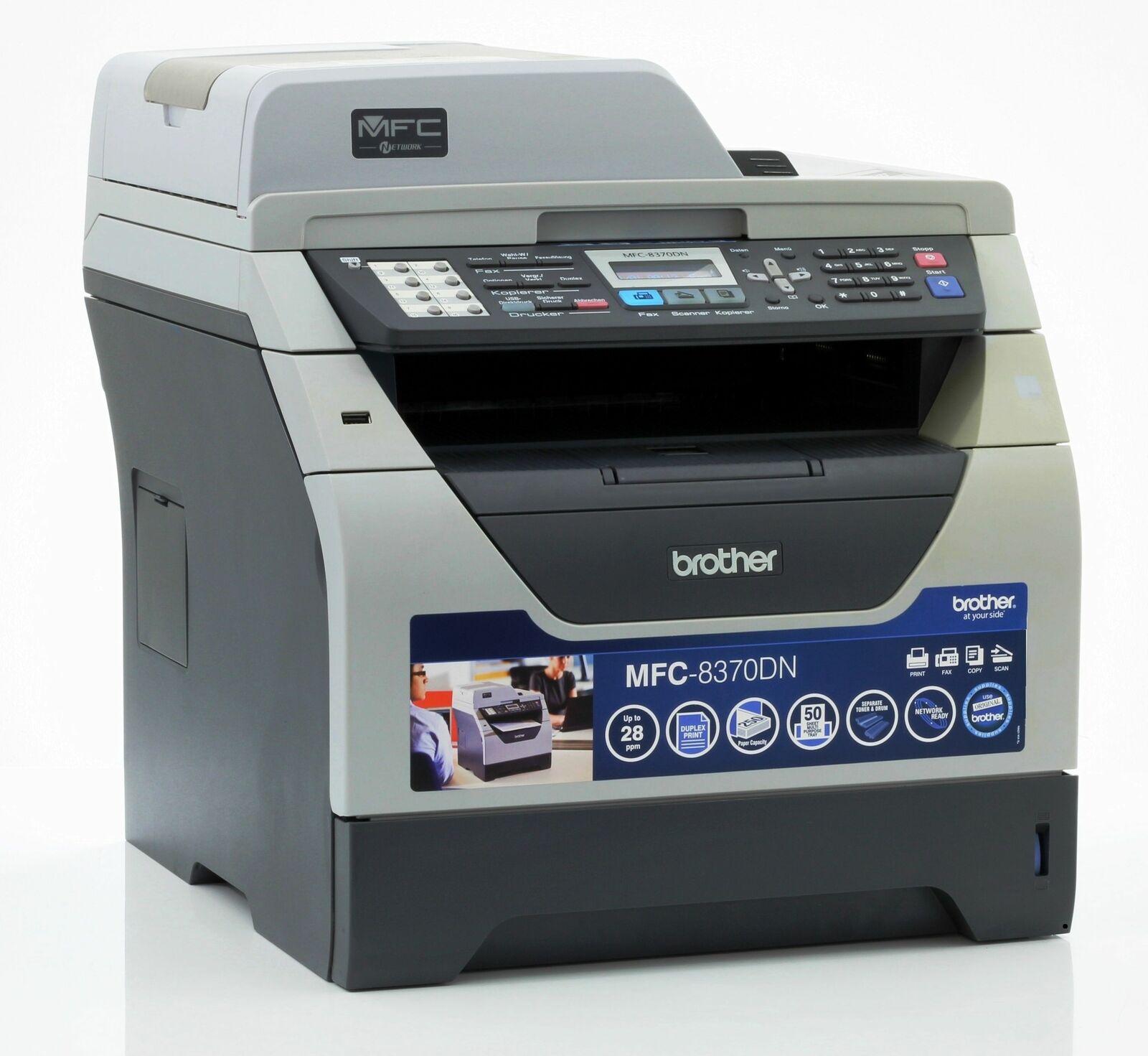 Brother mfc-8370dn imprimante laser scanner copieur fax utilisé