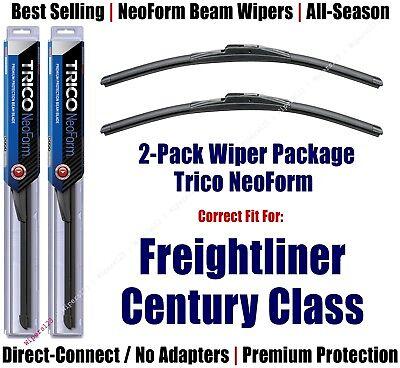 2pk NeoForm Wiper Blades fit 1996-2011 Freightliner Century Class 16220x2
