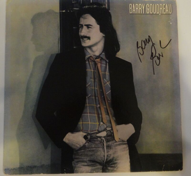 BARRY GOUDREAU SIGNED AUTOGRAPHED  SELF TITLED SOLO RECORD ALBUM  BOSTON