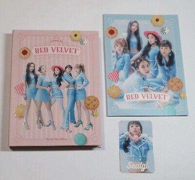 Red Velvet #Cookie Jar Limited Edition Japan CD+Seulgi Photo Card Cookie Jar Japan