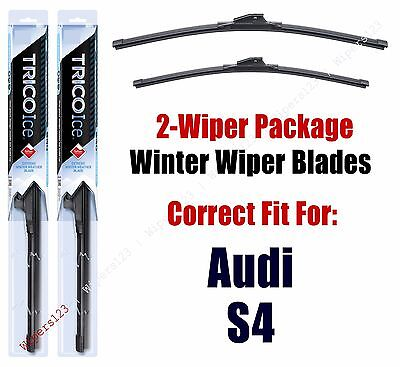 WINTER Wiper Blades 2-pack fit+ 2009+ Audi S4 35240/200