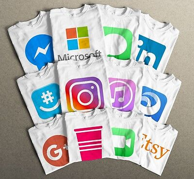 Halloween T-Shirts, All Social Media and Apps Logos. You Name it and we'll do - Halloween Names