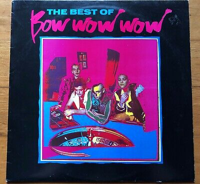 The Best Of Bow Wow Wow~1989 Receiver Records~UK IMPORT~Compilation Stereo