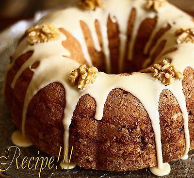 ☆Layered Goodness!☆Sour Cream Bundt Coffee Cake