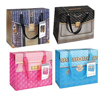 Handtasche Geschenk-beutel (Geschenktüte Tragetasche Flaschentasche Geschenkbeutel Handtasche Jubiläum)