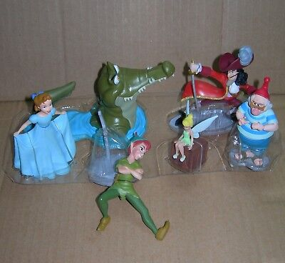 Disney Store PVC Figures CAKE TOPPER Peter Pan Minnie Mouse Happy Helper TOY New (Minnie Mouse Stuff)