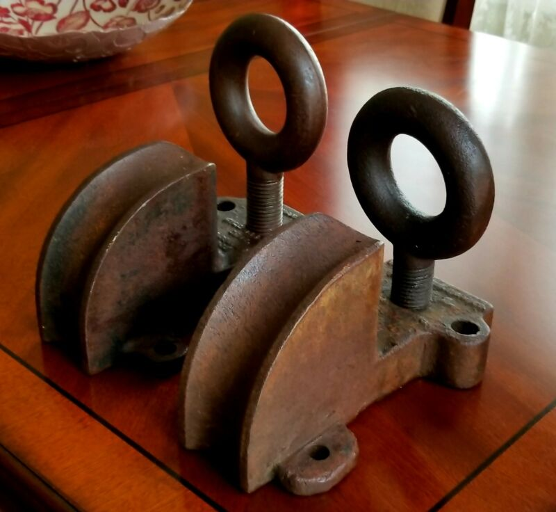 Vanderman P & H Co Willimantic Ct Antique Pipe Benders Industrial Art Mounts