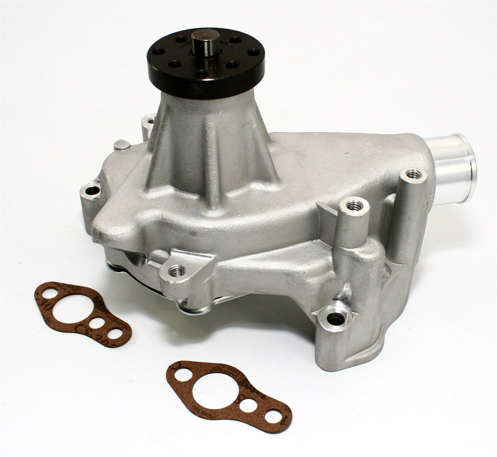 "Small Block Chevy 350 High Volume Long Aluminum Water Pump Natural 5//8/"" Pilot"