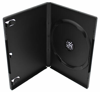 Standard DVD Replacement Case 14mm 1-Disc Premium Movie Storage Shell Cases