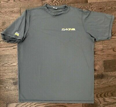 DAKINE Loose Fit UPF 50+ Sun Protection Athletic Sport Gray Shirt, Men's Large  for sale  New York
