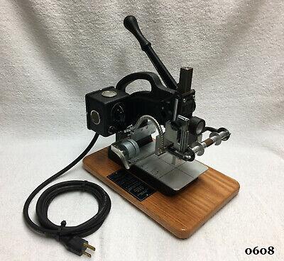 Kingsley Machine - M-101 Multi Line Machine - Hot Foil Stamping Machine