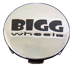 Bigg Wheels Rim Center Cap CAP-1114K60-C1 Chrome 2 5/16