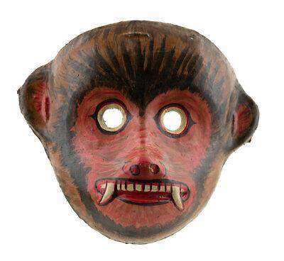 Mask Nepalese Yenya Monkey Hanuman Indra Jatra Festival Nepal Paper Mache 2579