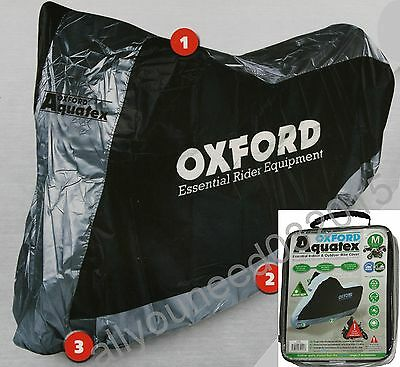 Oxford Aquatex Cover Outdoor & Indoor Motorbike Scooter Motorcycle size Medium M