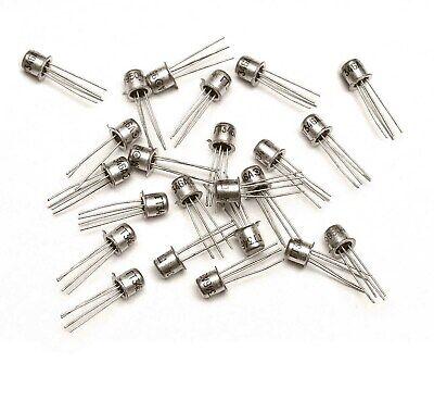 50 Pcs Germanium Ge Low Noise Transistor Pnp Gt346a Gf145 Af239 Af252 Ussr Nos
