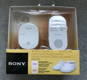 Sony digital audio nursery baby monitor