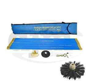 Industrial-Bailey-Universal-30ft-Chimney-Brush-Sweep-Sweeping-Drain-Rod-Set-Kit