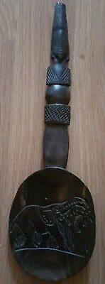 Solid Wooden Tribe Spoon