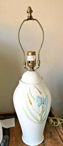 Vntage Belleek Lamp Butterfly