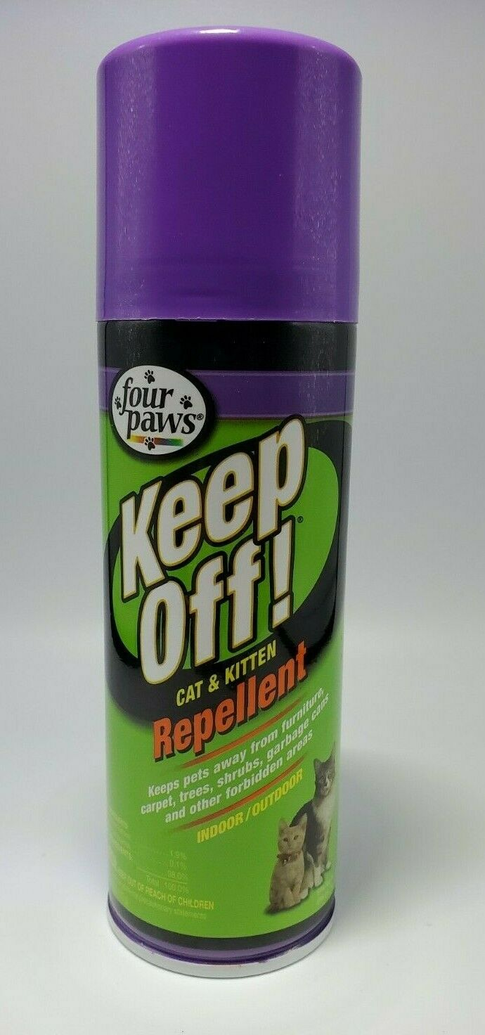 Four Paws Keep Off Indoor/Outdoor Cat Spray Repellent 6 oz