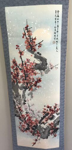 JAPANESE PAINTING HANGING SCROLL JAPAN ORIGINAL ANTIQUE PICTURE