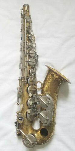 Rare! Antique Martin Busine Saxophone 17011