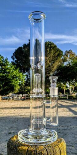 "16"" Big Heavy Double Perc Matrix Glass Bong Premium Tobacco Smoking Waterpipe"