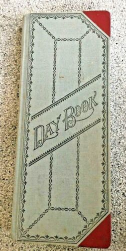 Vintage Standard Blank Ledge Book No. 66 - Records - Standard B & P - 500 Pages