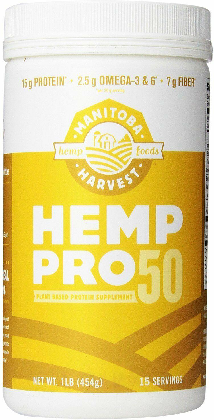 Hemp Pro 50 by Manitoba Harvest, 16 oz