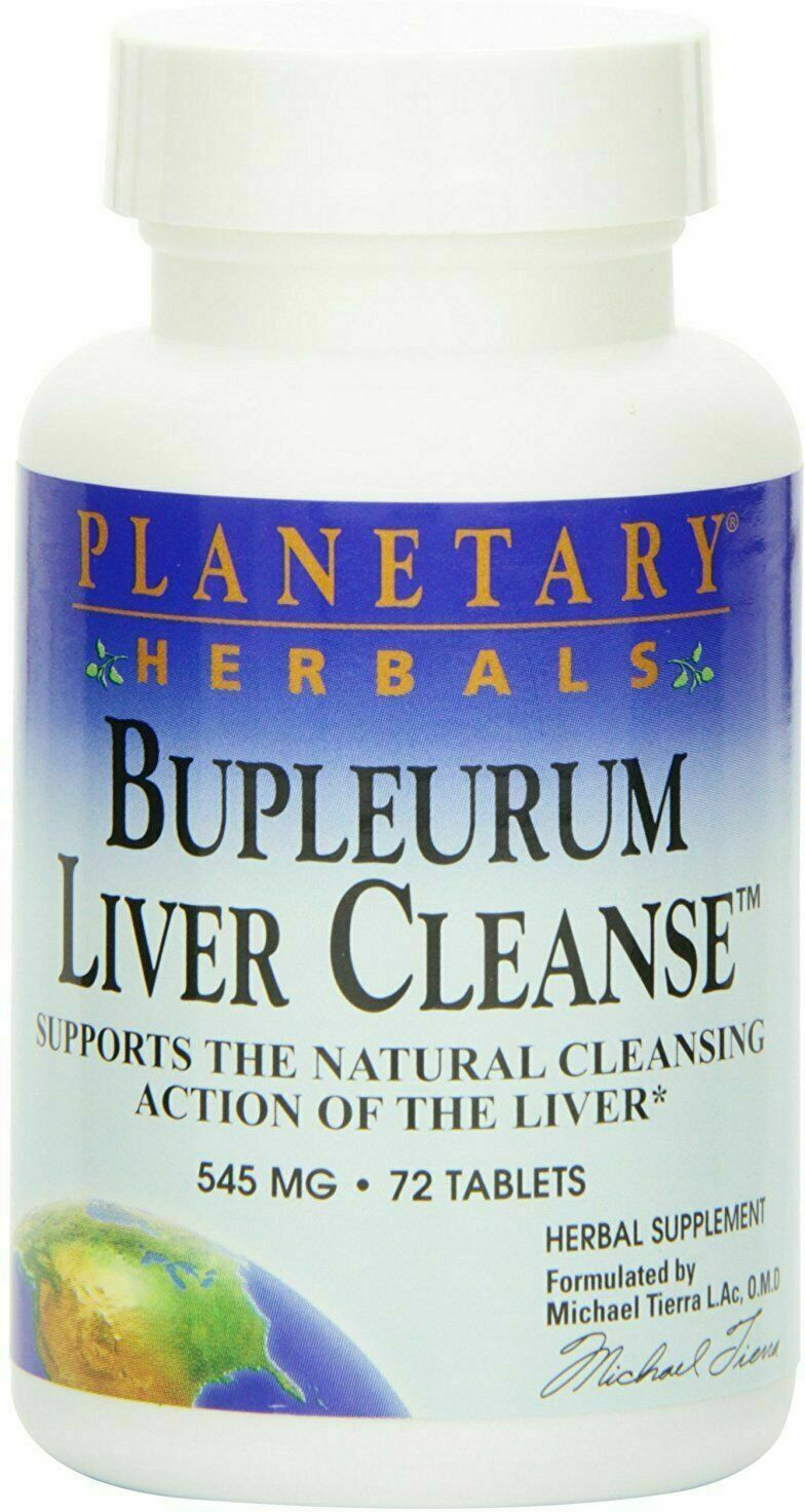 bupleurum liver cleanse 545mg 72 tablet
