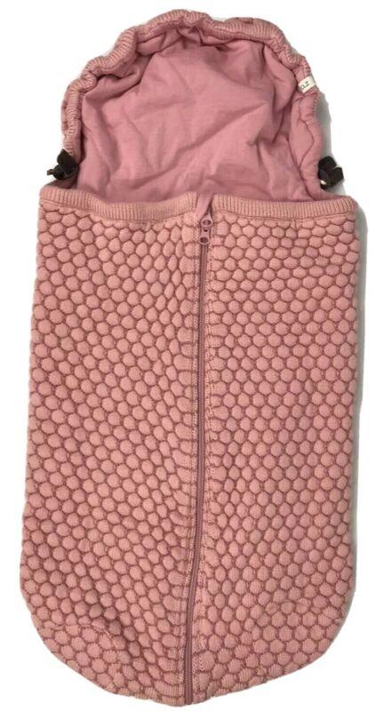 Joolz Essentials Honeycomb Nest Organic Stroller Crib Cozy Baby Blanket Pink
