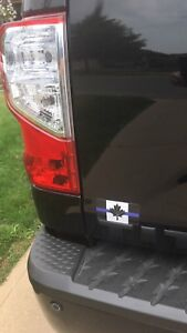 Thin Blue Line Police recognition magnets