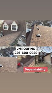 JN ROOFING - REPAIR & SNOW REMOVAL **226-600-0929**