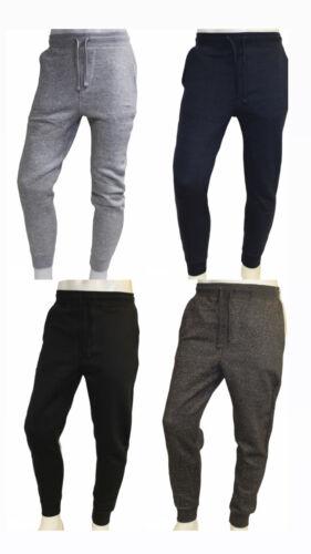 Mens Heavy Fleece Jogger Sweat Pants In Black. M,l,xl,xxl (4 Colors)