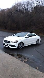 Mercedes CLA 250 2018 sport package for sublease at 31 August
