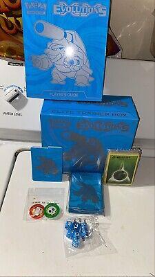 pokemon xy evolutions elite trainer box Opened No Packs Rare Good Condition