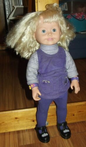 Playmates Amazing Ally Interactive Doll, 1999 Nonworking for Parts Play