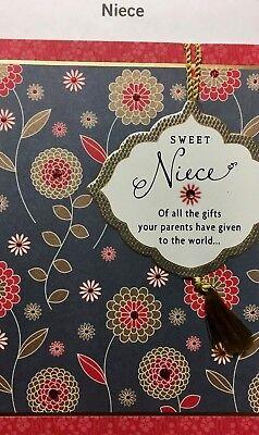 36 HALLMARK NIECE Happy Birthday Card  fo TEENS and ADULTS 12  Choices       (Adult Birthday)