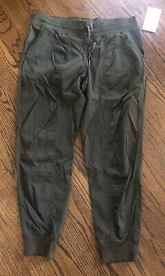 NWT lululemon Women's Studio Jogger Pants DARK OLIVE sz 14