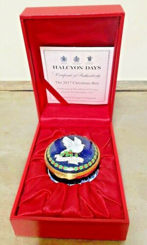 HALCYON DAYS THE  2017 Christmas Box LIMITED EDITION