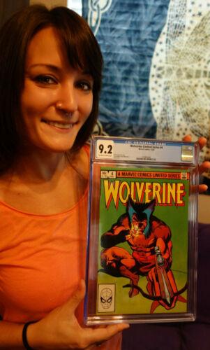 December 1982 Marvel Comics Wolverine Limited Series #4 X-Men Appearance CGC 9.2