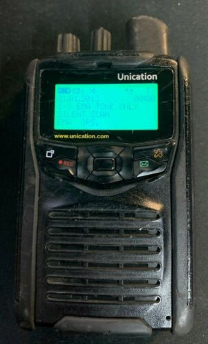 Unicatioin G1 pager - VHF - 2 charging bases