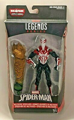 Marvel Legends SPIDER-MAN 2099 White Suit Sand Man Wave