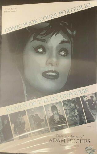 WOMEN OF THE DC UNIVERSE ADAM HUGHES COMIC COVER PRINT PORTFOLIO 11 x 17 #oa-953