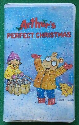 Arthur - Arthur's Perfect Christmas (VHS, 2000) ++ FREE DVD ()
