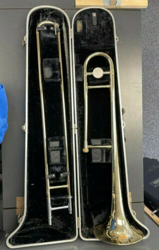 Buescher Aristocrat Trombone 1970-1975 with 12C and Carry Case - HY