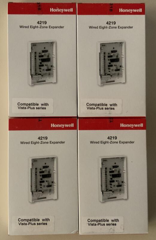 4219 HONEYWELL SECURITY ADEMCO ALARM WIRED 8 ZONE EXPANDER VISTA PLUS 4 LOT